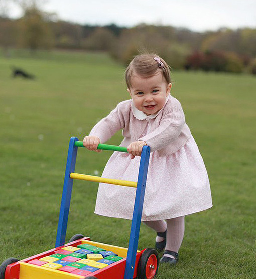 Four Adorable New Princess Charlotte Pics!