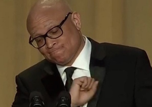 Larry Wilmore Gets Edgy in WHCD Speech