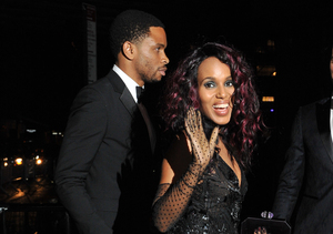 Kerry Washington's Husband Nnamdi Asomugha's Coy Response to Baby…