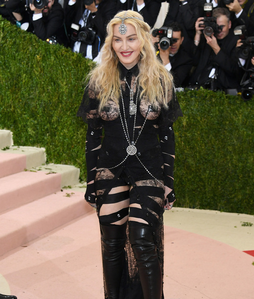 Madonna Happy to Be Reunited with Rocco, Says She's Working on…