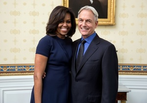 Mark Harmon Raves About Michelle Obama's Acting Debut on 'NCIS'
