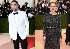 Robert Pattinson and Kristen Stewart's Red-Carpet Run-In