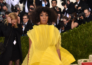Drama! Solange Knowles Throws Some Shade at the Met Gala — Who's She…