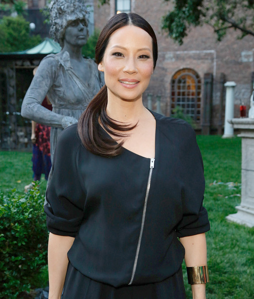 Lucy Liu Gushes over Baby Rockwell, Ahead of Her First Mother's Day