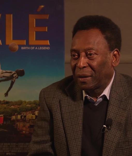 Pelé's Emotional Reaction to His Biopic 'Pelé: Birth of a Legend'