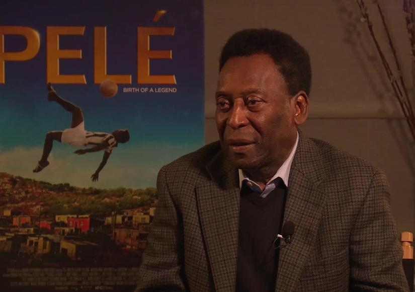 Pelé's Emotional Reaction to His Biopic 'Pelé: Birth of a Legend'