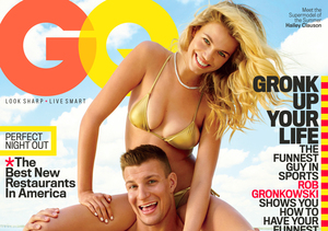 Rob Gronkowski Goes Shirtless, Comments on His 'Party Boy' Image in GQ