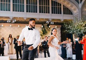 Details Behind Devon Still & Asha Joyce's Wedding