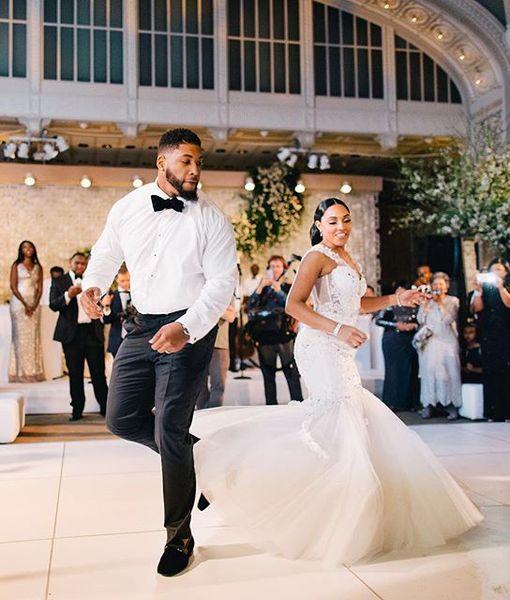 Details Behind Devon Still & Asha Joyce's Wedding