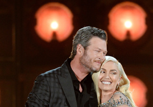 Blake Shelton & Gwen Stefani's Onstage and Offstage PDA at the…