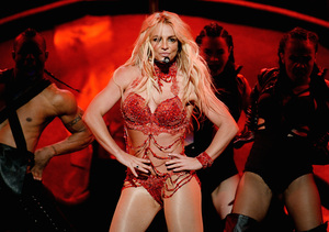 Britney Spears Opens Billboard Music Awards with Eye-Popping Medley