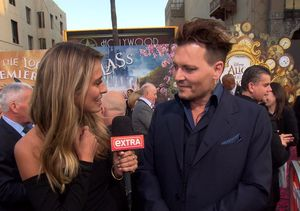 Johnny Depp Jokes About Kissing Jimmy Kimmel, Talks 'Alice' & 'Pirates of…