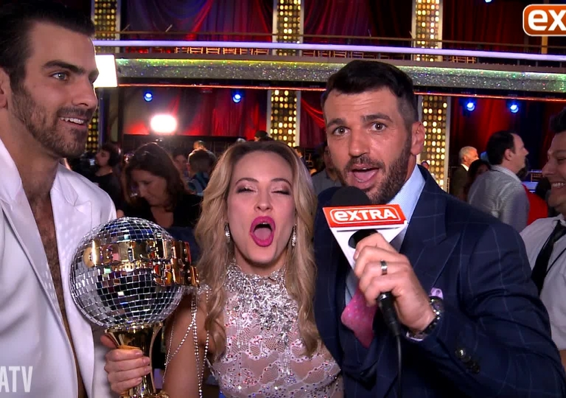 'DWTS' Finale! Backstage with Nyle DiMarco and Peta Murgatroyd