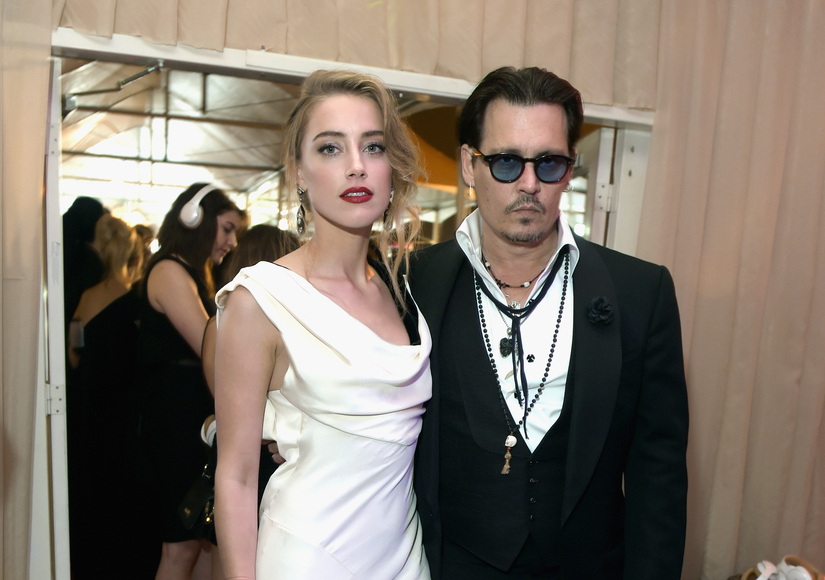 Report: Amber Heard Files Domestic Violence Restraining Order Against Johnny…