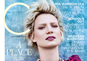 Through the Looking Glass: Mia Wasikowska Opens Up on Her Sheltered Childhood