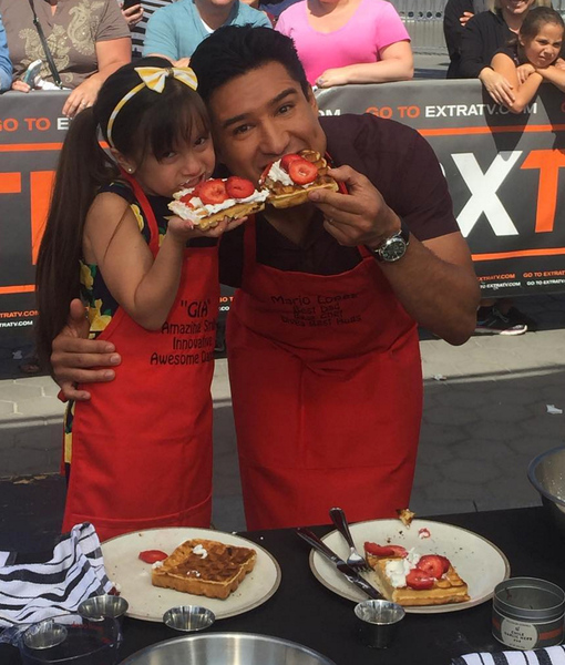 Chef Ellamarie Teaches Mario & Gia How to Make Chocolate Chip Waffles Just…