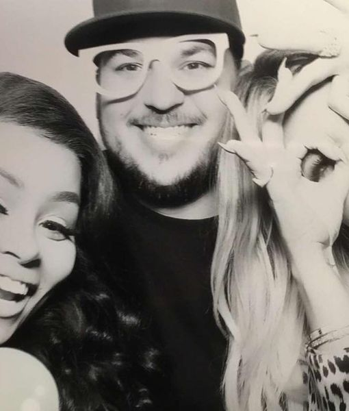 Rob Kardashian & Blac Chyna Celebrate Khloé's Drama-Free Birthday Party