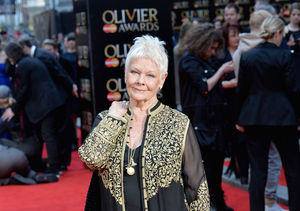 Judi Dench Just Got Her First Tattoo at 81!