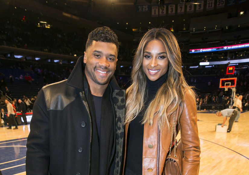 Russell Wilson and Ciara Spotted at Wedding Rehearsal Dinner in England