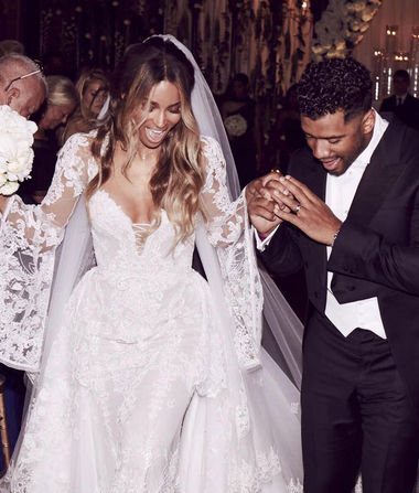 Ciara & Russell Wilson Are Married!