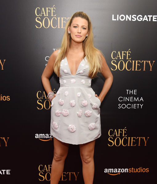 Blake Lively Reveals Plans for Time Off After 'Café Society' Press Tour