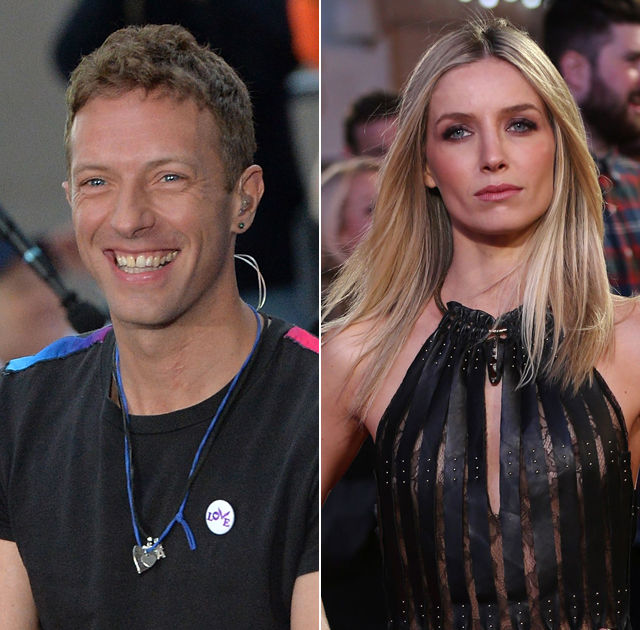 chris martin and alaine dating after divorce