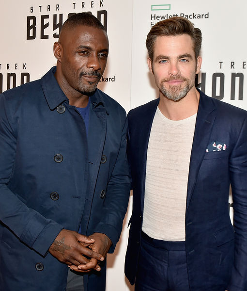 That One Time Idris Elba Gave Chris Pine a Black Eye