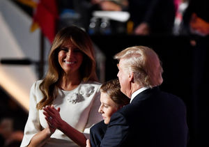 'Extra' Goes Backstage with Donald Trump's Family After His RNC Speech