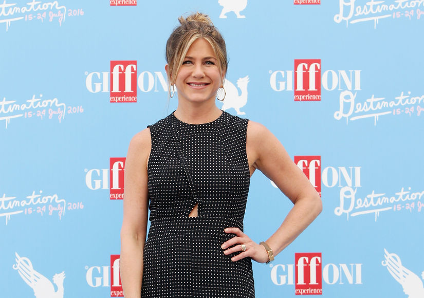 What Sparked Jennifer Aniston's Tears at Giffoni Film Festival