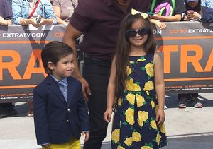'Extra' Behind the Scenes: Mario Lopez Teaches His Kids How to Walk the Runway
