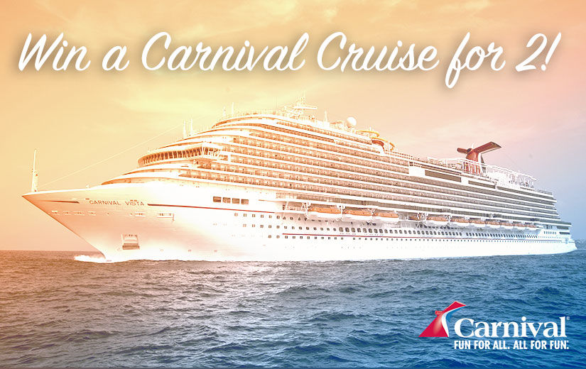 Win It! A Trip for 2 Aboard a Carnival Cruise Featuring Delicious Eats from Guy…