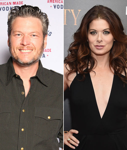 How Blake Shelton Nearly Sparked Twitter War with Debra Messing