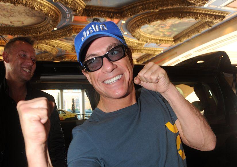 Watch Jean-Claude Van Damme Storm Out of Australian TV Interview