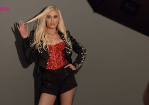 Go Behind-the-Scenes of Gwen Stefani's Cosmopolitan Photo Shoot