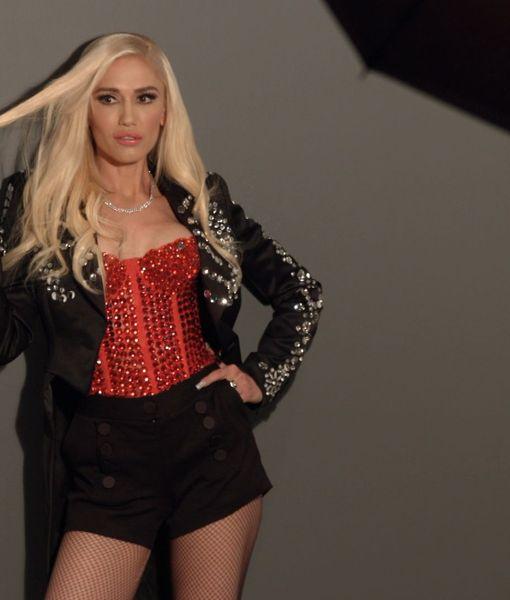 Go Behind-the-Scenes of Gwen Stefani's Cosmopolitan Photo Shoot