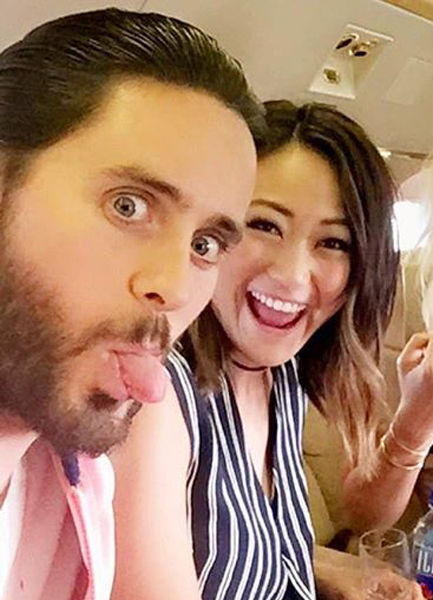 How Jared Leto Freaked Out Karen Fukuhara When They First Met