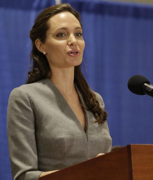Angelina Jolie to teach at Georgetown University