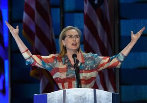 Meryl Streep Reacts to Hillary Clinton Wanting the Oscar Winner to Play Her in…