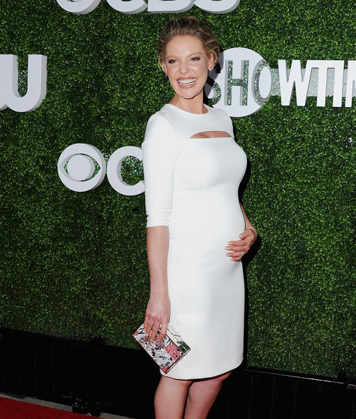 Katherine Heigl Dishes On Her Pregnancy And Hiding Her ...