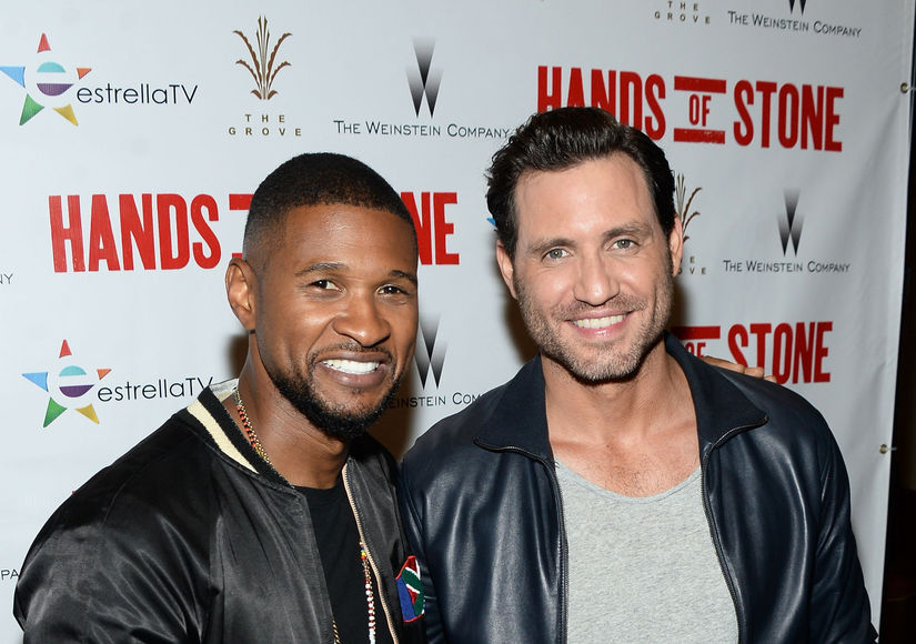 Rapid-Fire Quiz: Boxer Mike Lee Puts Usher & Edgar Ramirez to the Test!
