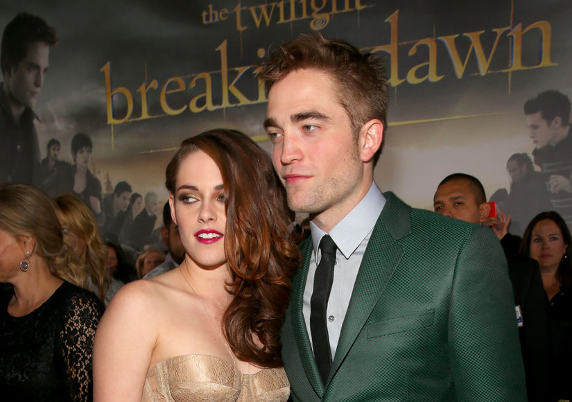 robert pattinson and kristen stewart finally dating