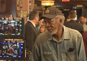 What It's Like When Morgan Freeman Directs an Episode of 'Madam Secretary'