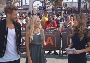 'Extra' Social: 'Bachelor' Olympics with Nick Viall and Sarah Herron