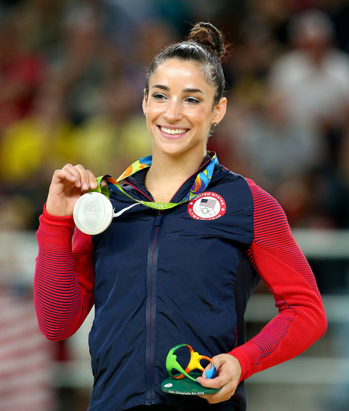 Would Aly Raisman Date the Raiders' Colton Underwood?