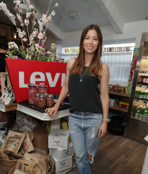 Jessica Biel and Levi's Host Back-to-School Event at Au Fudge