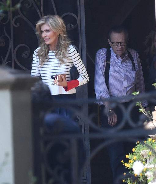 Exclusive: Larry & Shawn King Spotted Together Amidst Her Alleged-Cheating…