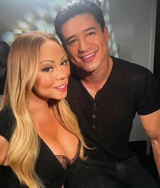 Mariah Carey's Blindfolded Surprise for Mario Lopez in Las Vegas