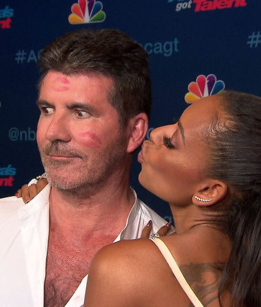 Mel B Shows Major Love for Simon Cowell After Attacking Him with Icewater