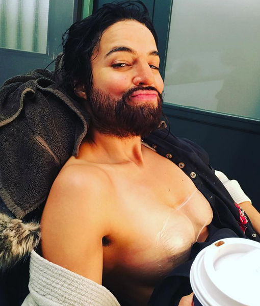 Michelle Rodriguez Defends New Film, Posts Pic As Man