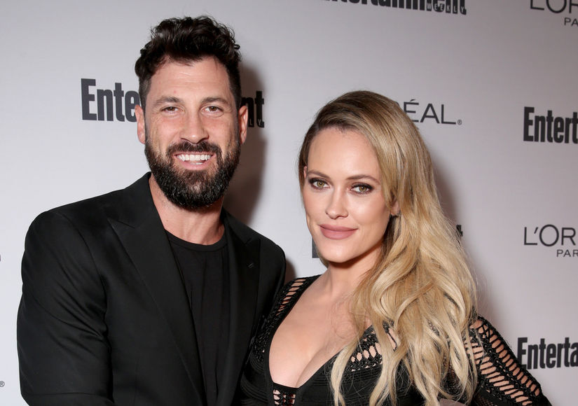Parents-To-Be Maks & Peta Will Make Baby Their 'Little, Tiny Ring Bearer'…